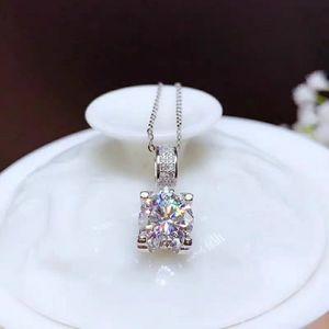 Jewelry - 2 carat moissanite diamond necklace